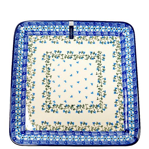 Блюдо Ceramika Artystyczna квадратное Виноградная лоза, фото