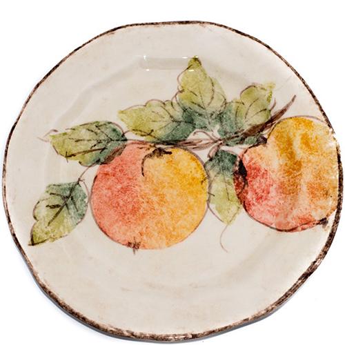 Тарелка для салата Bizzirri Персики, фото