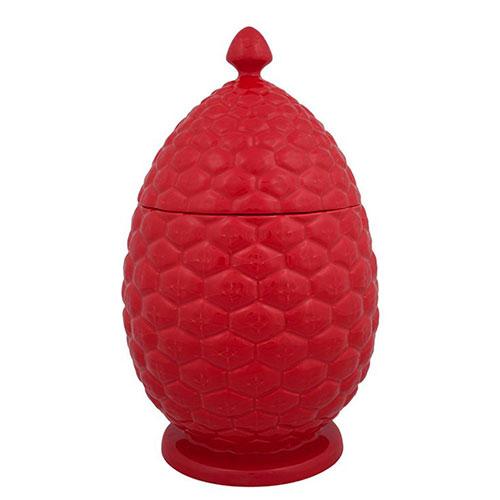 Емкость для хранения Bordallo Pinheiro Шишка красного цвета, фото