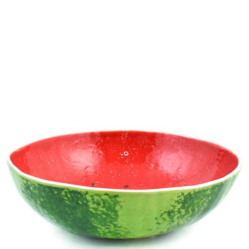 Большой салатник Bordallo Pinheiro Арбуз, фото
