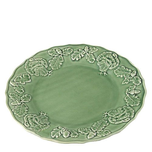 Керамическая тарелка Bordallo Pinheiro с узорами, фото