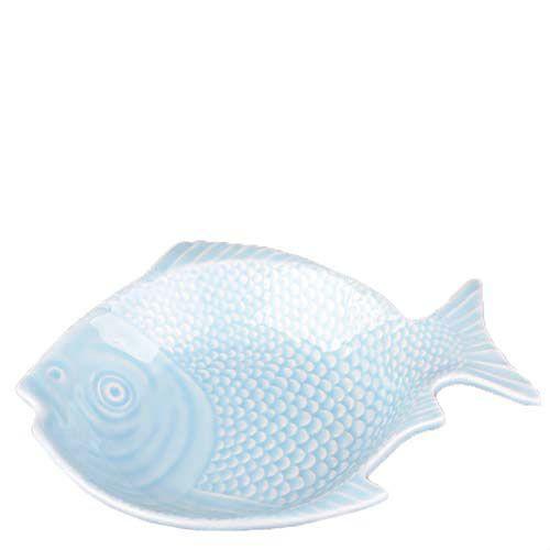 Блюдо керамическое Bordallo Pinheiro Рыба голубая, фото