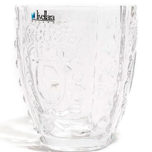 Набор прозрачных стаканов Livellara Rococo, фото