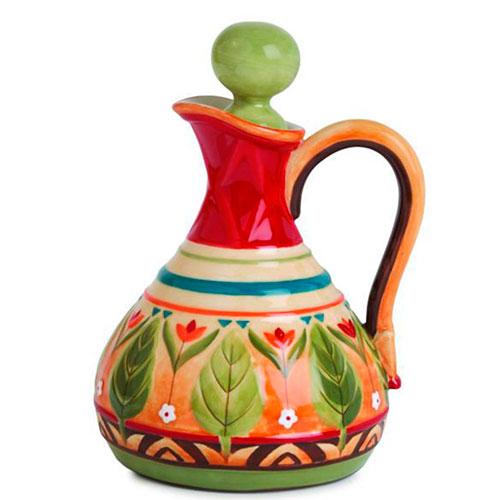 Яркий олейник Fitz and Floyd из керамики, фото