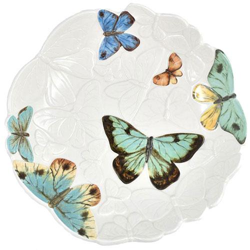 Блюдо Fitz and Floyd Butterfly fields из керамики, фото