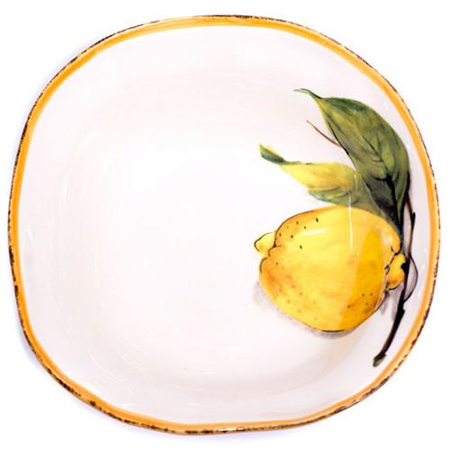Тарелка для супа Bizzirri Лимоны, фото