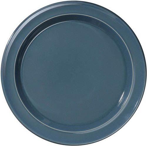 Тарелка обеденная Emile Henry Natural Chic Bleu Pavot 28 см, фото