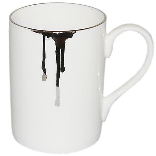 Фарфоровая чашка Reiko Kaneko Rip Platinum, фото