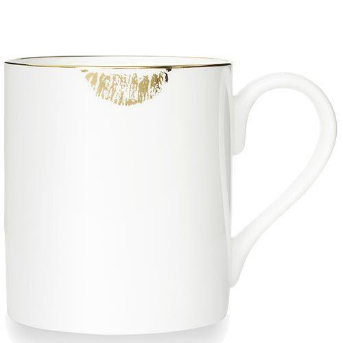 Фарфоровая чашка Reiko Kaneko Lips Gold, фото