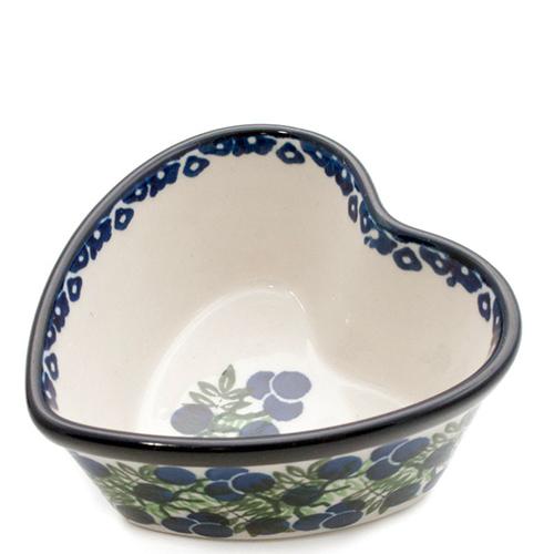 Пиала Ceramika Artystyczna Ягодная поляна в форме сердца, фото