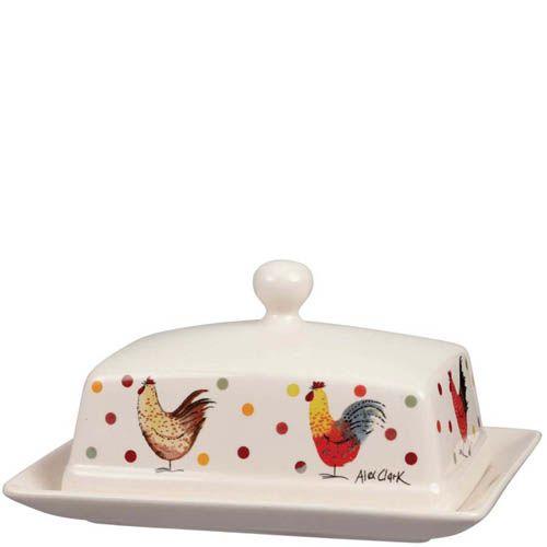 Масленка с крышкой Churchill Alex Clark 24 см, фото