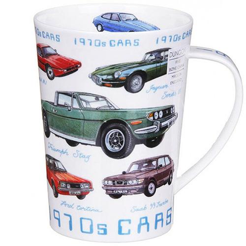 Чашка Dunoon Argyl Classic cars 1970, фото