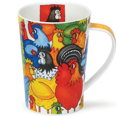 Чашка Dunoon Argyl Hide&Seek Chickens, фото