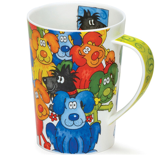 Чашка Dunoon Argyl Hide&Seek Dogs, фото