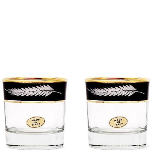 Набор из 6 хрустальных бокалов для виски Art Decor Old Fashion Ветка, фото