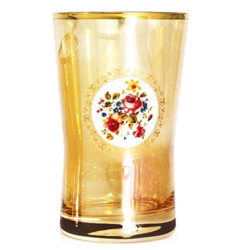 Набор из 6 стаканов Art Decor Bibita Donizetti Ambra, фото