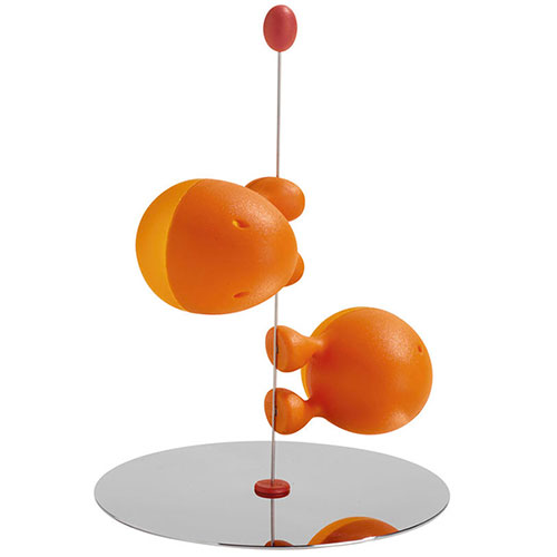 Набор для специй Alessi Lilliput оранжевого цвета, фото