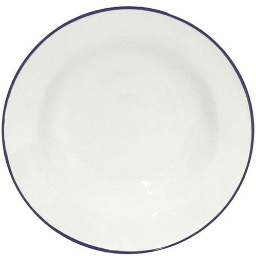 Набор из 6 тарелок для супа Costa Nova Beja белого цвета 600мл, фото