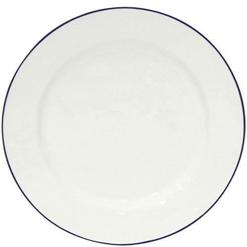 Набор из 6 тарелок Costa Nova Beja белого цвета 28см, фото