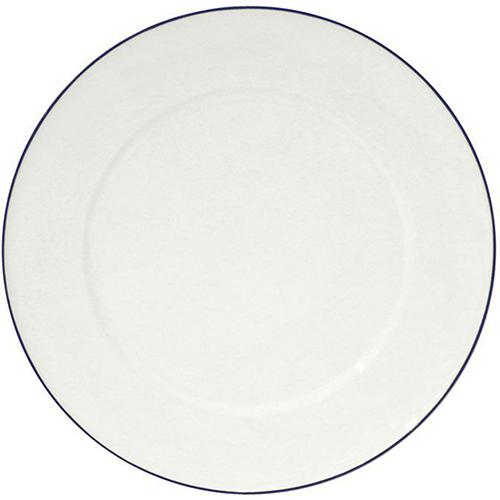 Блюдо белое с каймой Costa Nova Beja 33см, фото