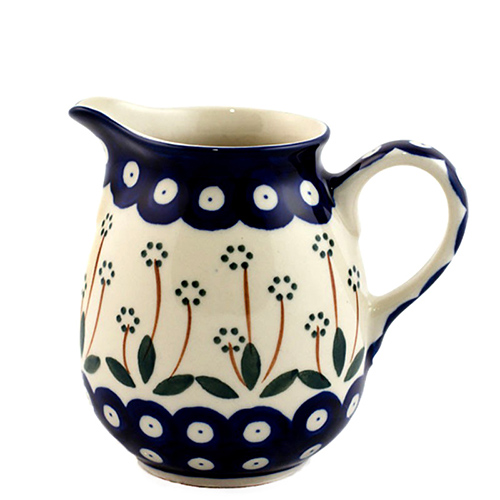 Молочник Ceramika Artystyczna с ручкой Весенний сад, фото