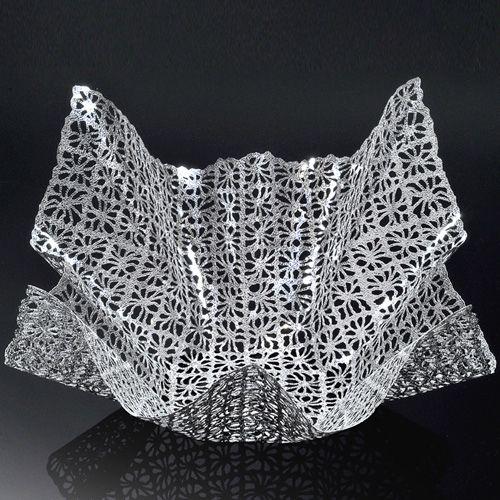 Чаша Metalace с ажуром Doily средняя, фото