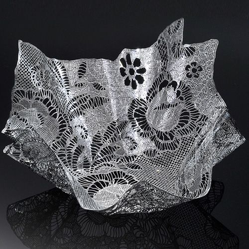 Чаша Metalace с ажуром Patch Lace крупная, фото