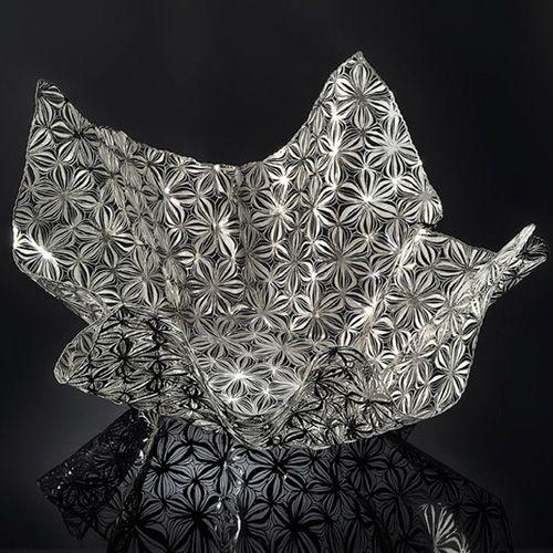 Чаша Metalace с ажуром Flower Shades средняя, фото