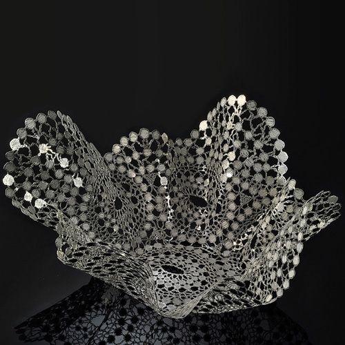 Чаша Metalace с ажуром Marquiz средняя, фото