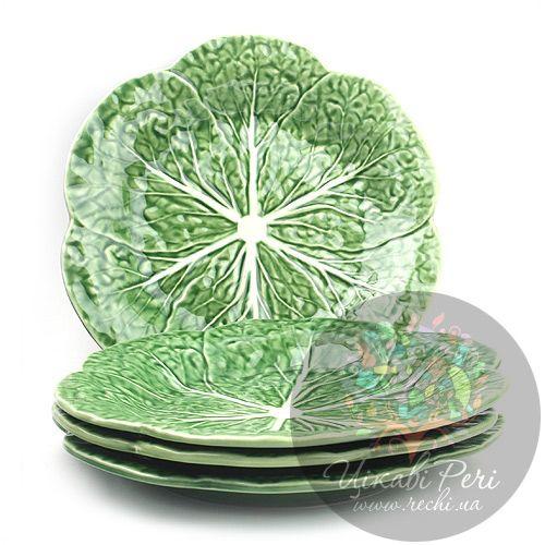 Набор подставных тарелок Капуста Bordallo Pinheiro , фото