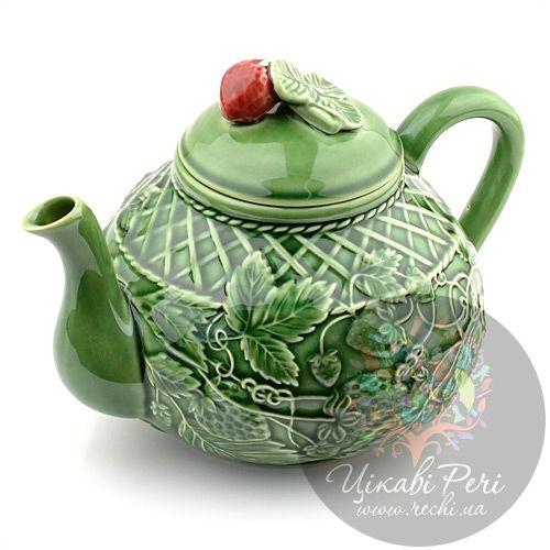Чайник Bordallo Pinheiro Клубника, фото