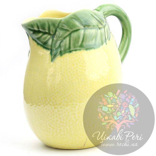 Кувшин в виде лимона Bordallo Pinheiro , фото