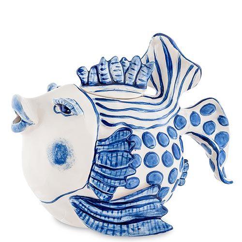 Заварочный чайник Pavone Рыба, фото