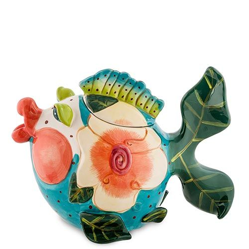 Заварочный чайник Pavone Рыба Франжипани, фото