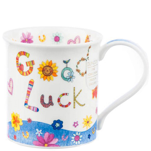 Чашка Dunoon Bute Greetings Good Luck 0,3 л, фото