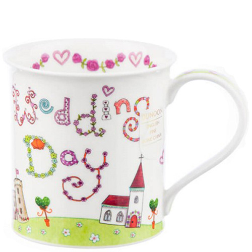 Чашка Dunoon Bute Greetings 2 Wedding Day 0,3 л, фото
