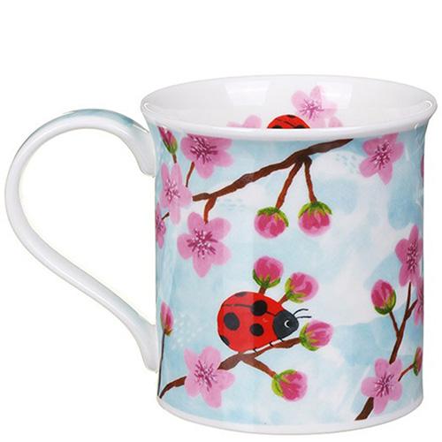 Чашка Dunoon Bute Little Buggies Ladybird 0,3 л, фото
