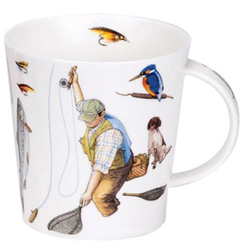 Чашка Dunoon Cairngorm Country Sports Fishing 0,48 л, фото