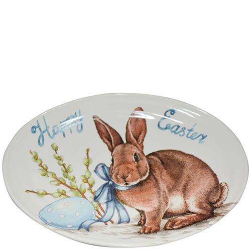Блюдо Ceramica Cuore Пасхальный кролик, фото