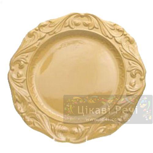 Блюдо Firenze Gold Certified International, фото