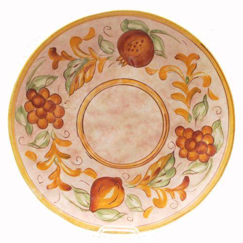 Большая тарелка Certified International Milano, фото