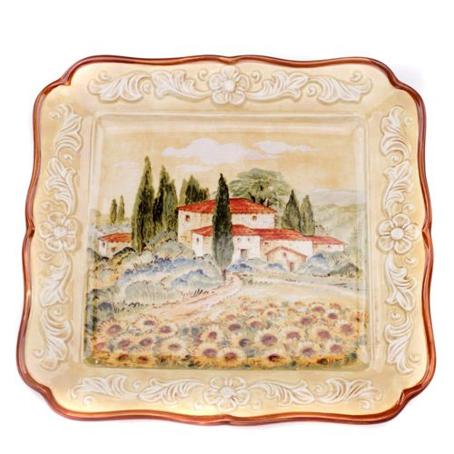 Тарелка квадратная Certified International Italia, фото