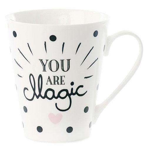 Кружка Miss Etoile You are magic с черными точками, фото