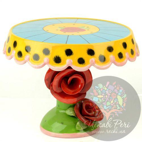 Тортовница средняя Цветы Pavone, фото