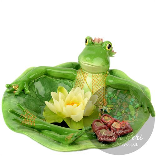 Блюдо Лягушка Pavone, фото