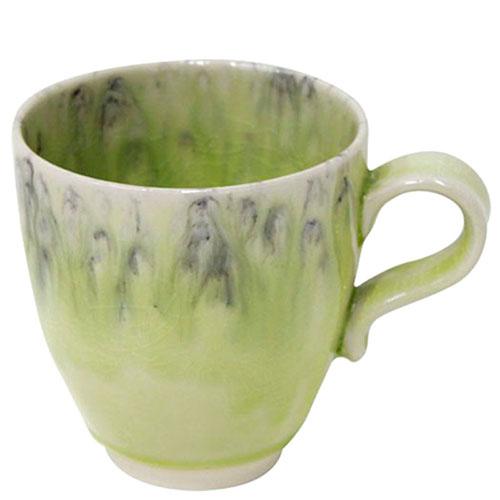 Большая чашка Costa Nova Madeira желтого цвета с эффектом потеков, фото
