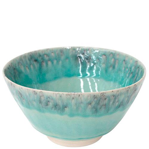 Голубой керамический салатник Costa Nova Madeira, фото