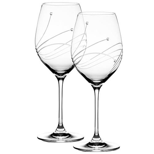 Бокалы для белого вина Royal Scot Crystal Diamante 2 шт, фото