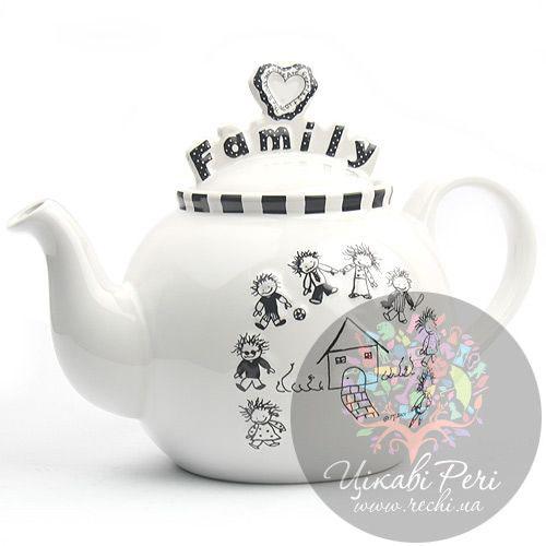 Чайник Enesco Семья, фото