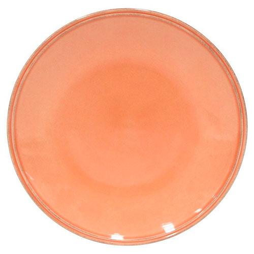 Обеденная тарелка Costa Nova Friso оранжевого цвета, фото
